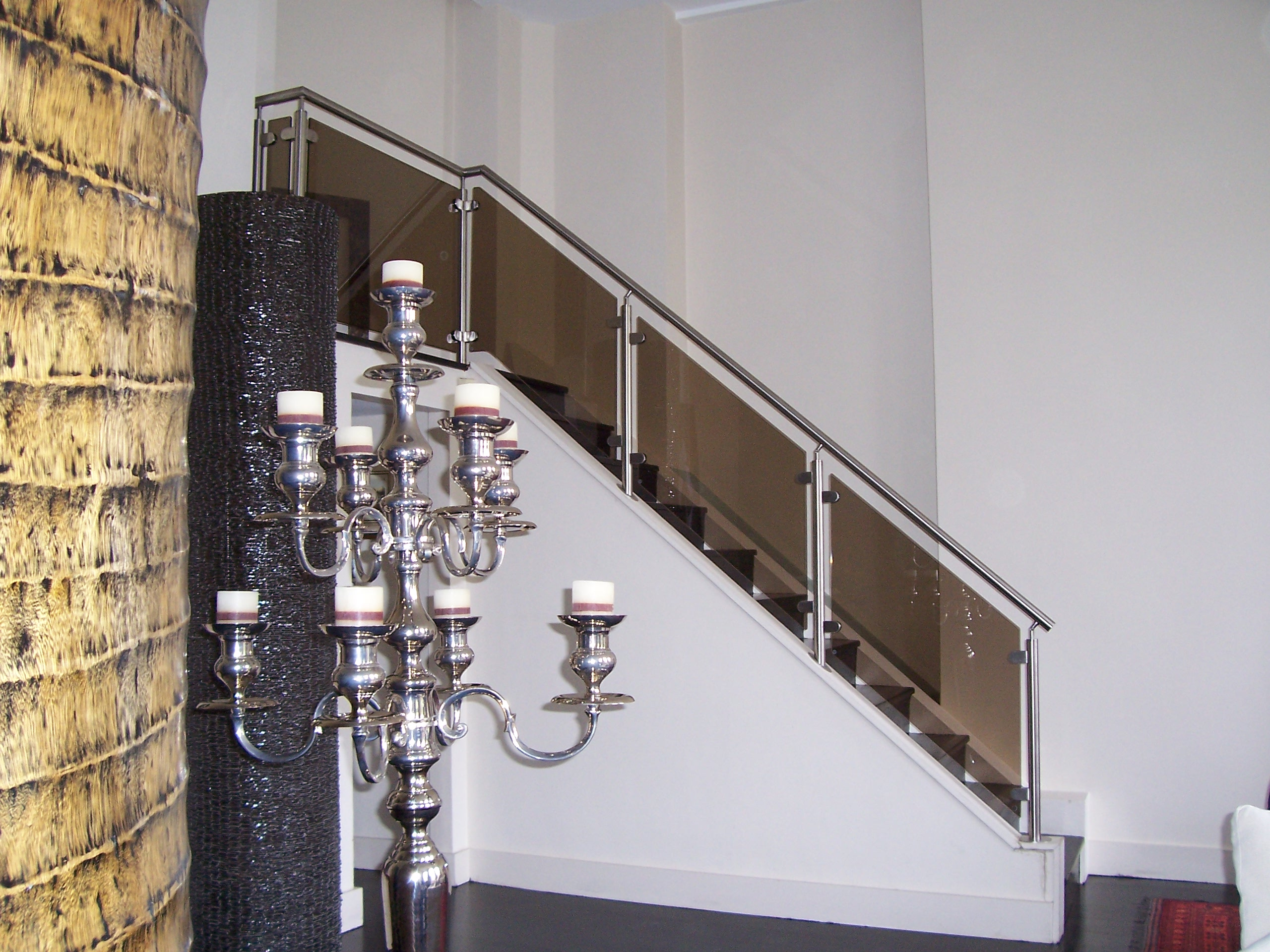 Stainless Steel Balustrade Tinted Glass