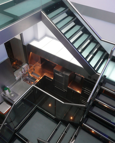Indoor Steel Staircase